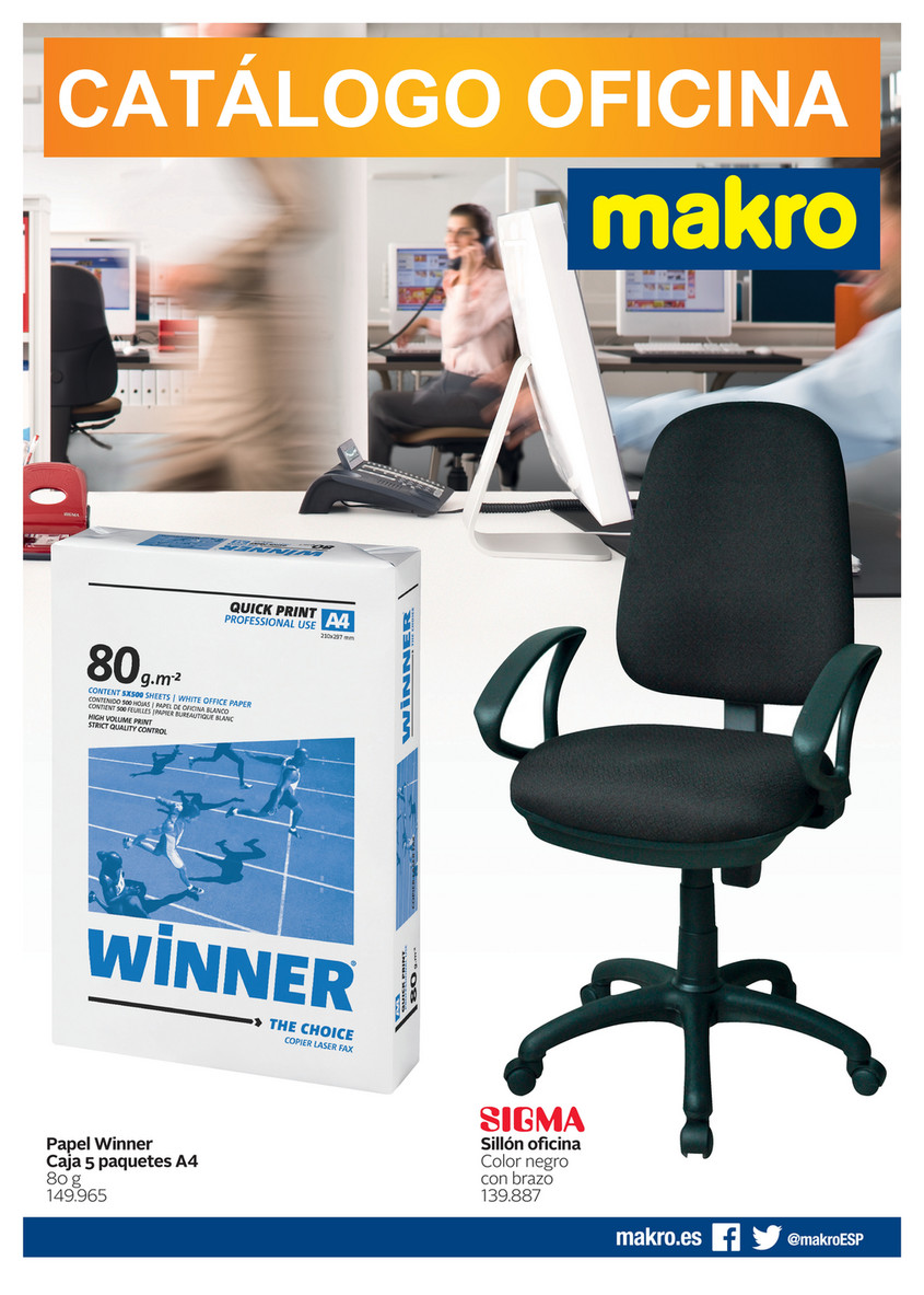 Makro España Ofertas - Catálogo Oficina - Página 1